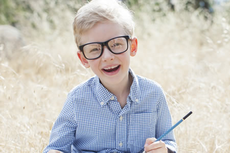 Children's Eye Tests and Frames